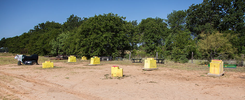 Junkyard at Clinton Anderson's Ranch for Training Horses