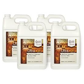 UltraCruz Isopropyl Alcohol 99-percent, 4x1 gallon